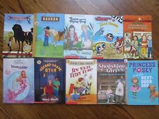 Lot of 10 Chapter Books Girls Grades 2-3 Horse Dog Pony Mermaid Cam Jansen