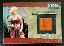 GC3 Gabrielle (Thread) Costume Xena Warrior Princess Season Six 6 trading card