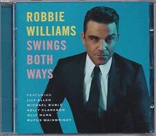 Robbie Williams - Swings Both Ways  -CD-    NEU + UNGESPIELT-MINT !