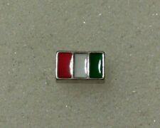 Floating charms for living owl lockets Flag Italy Italian Birthday Mom Christmas