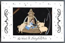 Disneyland Paris - Belle Reading with Sheep at The Fountain Jumbo Pin