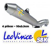 Stickers autocollant Leovince echappement sponsors