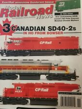 Model Rail News Nov 2017 3 Canadian SD40-2s In Ho From Bowser FREE SHIPPING