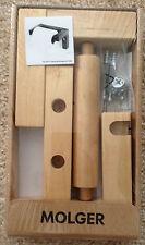 IKEA MOLGER BATHROOM TOILET TISSUE ROLL PAPER HOLDER WOOD