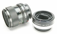 Canon Manual Focus 3,5/50mm FD Macro Lens With Ext. Tube 25 For 1:1. EX.