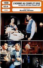 Movie Card. Fiche Cinéma. L'homme au complet gris (USA) Nunnally Johnson 1956