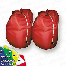 2 Red Jumbo Storage Bag Laundry Bags sack Reusable Large Strong Draw string