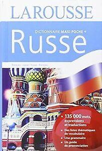 Dictionnaire Larousse maxi poche plus russe : Edition... | Livre | état très bon