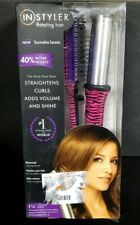 "InStyler Rotating Iron 1.25"" (1 1/4"") barrel tourmaline ceramic Pink Zebra SEAL"