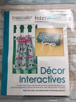 NEW Designer's Gallery Interactive Embroidery Designs Decor Interactives