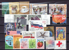 Slovenia Slowenien lot of MNH modern stamps full collor 2