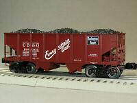 Lionel 6-81692, CB&Q 50-Ton Twin Hopper #188005, Factory New, C-10   /t