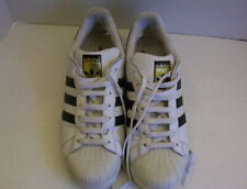 Adidas Leather Tennis Shoes White Black US Men's 10