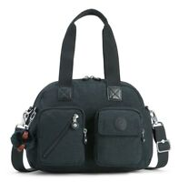BORSA KIPLING DEFEA UP KI2500 TRUE NAVY H66 TRACOLLA NUOVA SCONTATA