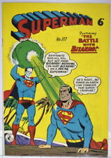 Australian SUPERMAN 117 DC Comics 1950's Action Comics 254 cover UK