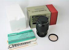 Canon FD 100mm f4.0 Macro Lens