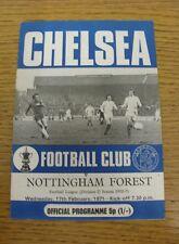 17/02/1971 Chelsea v Nottingham Forest  (Excellent Condition)