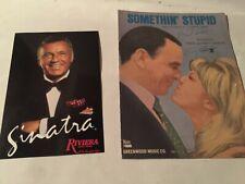 """Frank-Nancy Sinatra"" Something Stupid Music- Riviera Hotel Rare Photo-Special !"