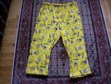 Men's The Simpsons HOMER Days of the Week Lounge Fleece Pajama Pants Size XXL