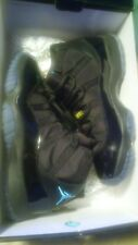 air jordan 11 gamma blue (human race yeezy gym 1 2 3) (with 3M sz small hoodie)