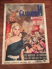Manifesto,4F,Le Gladiatrici Amazzoni Leonviola. Andersen Fiore   Hendy SEXY 1963
