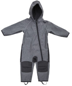 Kinder-Softshelloverall Softshellanzug Matschanzug mit Fleece OEKO-TEX 100 NEU!!