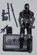 GI JOE COBRA 30TH POC RENEGADES SNAKE EYES LOOSE COMPLETE