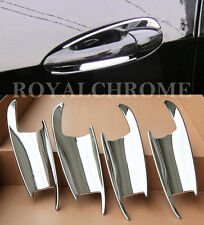 ROYAL CHROME X4 Door Handle Scoops for Mercedes Benz W212 E Class 09-16 E63 AMG