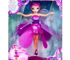 Wireless Flying Fairy Magical Pink Music Doll Princess with Stand Rechargeable