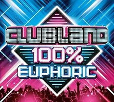 Clubland 100 Euphoric 3 CD Various Artists Trance Classics Release