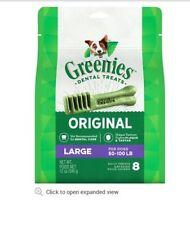 Greenies Dental Treats - Large 12 oz 8 ct.