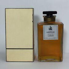 Rare Vintage Lanvin Arpege Extrait HUGE 8 Oz Pure Parfum OLD FORMULA Perfume NIB