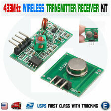 433Mhz Wireless RF Transmitter Module + Receiver Alarm Arduino DIY USA