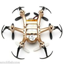 JJRC H20 Tiny 2.4G 6 Axis Gyro 4CH RC Hexacopter Headless Mode RTF Gold.