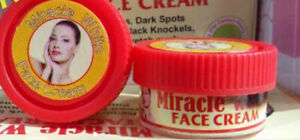 MIRACLE WHITE LIGHTENING FACE CREAM - One