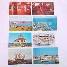 Vtg Baltimore Maryland Postcards Lot Of 8 Boats Ships Harbor Lighthouse
