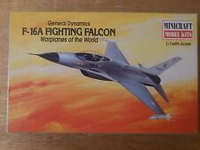 1:144 Minicraft no. 14424 F-16A Fighting falcon. Warplanes of the World Kit