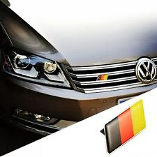 1PC GERMAN FLAG LOGO STICKER EMBLEM BADGE ABS PLASTIC AUTO BODY SIDE DECORATION