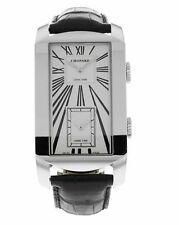 Chopard L.U.C Dual Tec 18k White Gold Automatic & Quartz Men's Watch 162274-1001