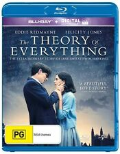 The Theory Of Everything (Blu-ray, 2015) VGC Pre-owned (D85)