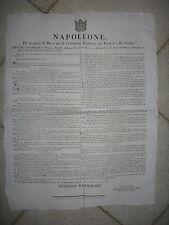 U585-NAPOLEONE-DAZI APPLICABILI ALLE MERCI 1807
