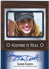 SHANNON ELIZABETH  2012 LEAF Keeping It Real Auto AUTOGRAPH #5/5  AMERICAN PIE