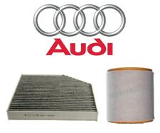 For Audi A6 A7 Quattro S6 S7 Pair Set of Air & Cabin Air Filters Genuine