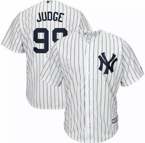 NEW New York Yankees - Judge #99 Men's Pinstripe Jersey Mens L