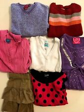 Girls Huge Lot Clothes Sz Large 10-12 Childrens Place Old Navy Justice Sweaters