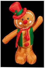 1.2m Xmas Inflatable Gingerbread Man Indoor & Outdoor Use Christmas Decoration