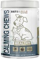 All Natural Calming Chews for Dogs Cats Soft Diet Fit Supplement Healthy Pets