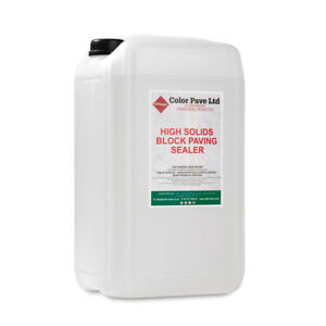 Driveway and Patio Sealer For Imprinted Concrete, Block Paving, Stone and Slate