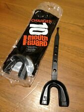 Shield Charger Black Mouth Guard Mod. 10 Football Hockey Contact Sports Lot Of 3