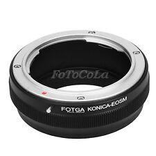 Fotga Adapter Konica AR Lens to Canon EOS M M2 M3 EF-M mount mirrorless camera